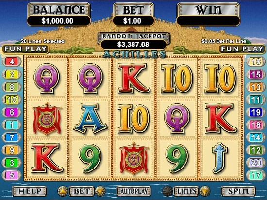 Achilles™ Slot Machine Game to Play Free in Realtime Gamings Online Casinos