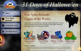 Microgaming Rolls out Top Halloween Slots