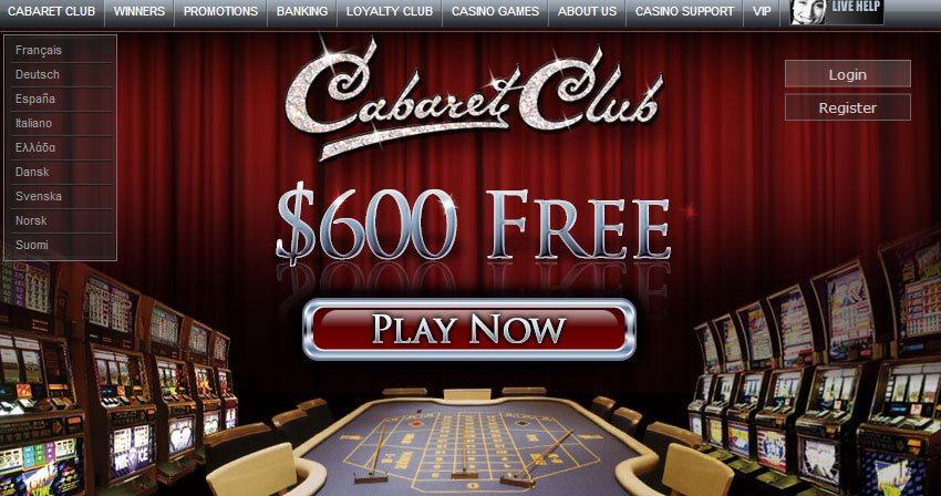 Cabaret Club Website