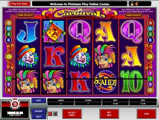 Play Carnaval Slot for Real Money