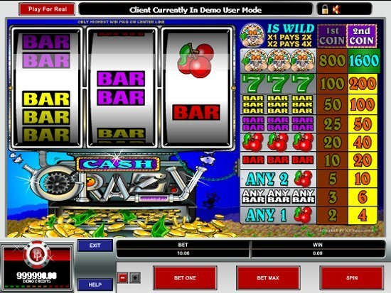 Play Cash Crazy Slot for Real Money