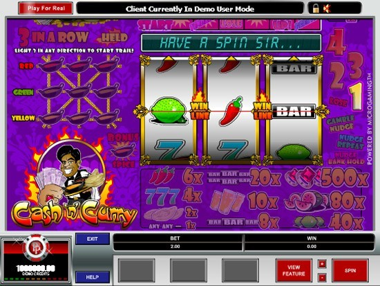 Cash n Curry Slot