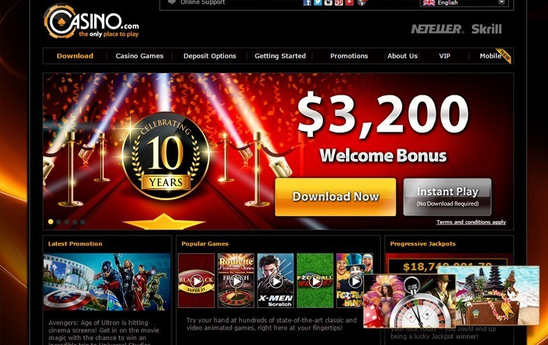 Holiday Package Promo At Casino.com