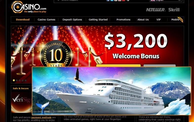 The Perfect Escape at Casino.com