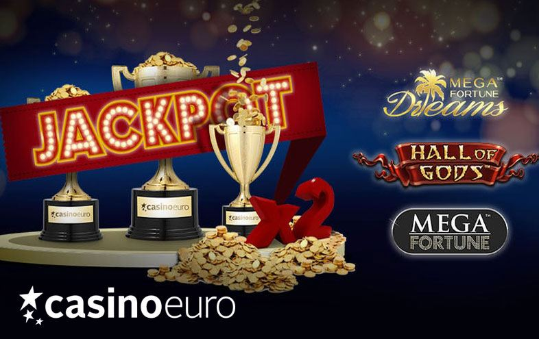 Month of Jackpot Madness at Casino Euro