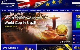 Watch World Cup Matches with CasinoEuro.com