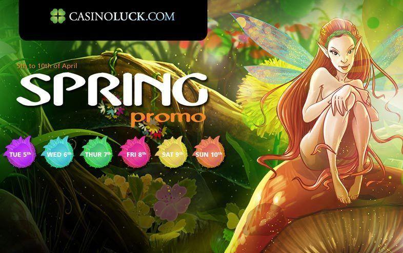 Spring Bonus Weekend at Casino Luck
