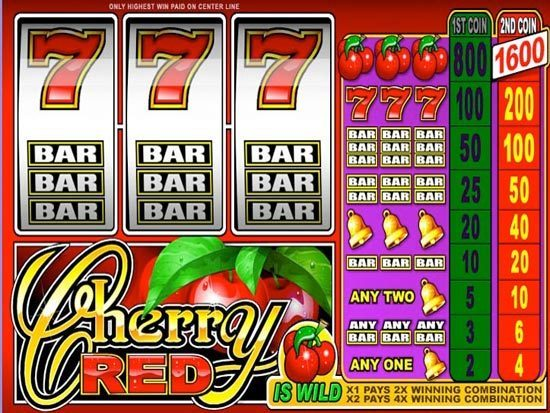 Play Cherry Red Slot for Real Money