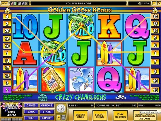 Play Crazy Chameleons Slot for Real Money