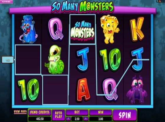 Play So many Monsters Slot for Real Money