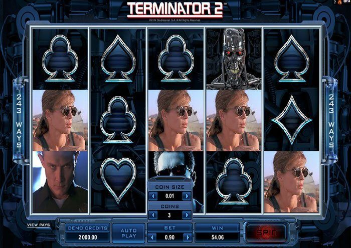 Play Terminator 2 Slot for Real Money