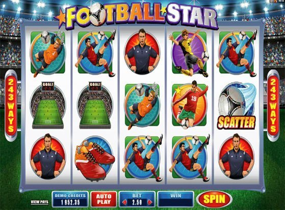 Play Football Star Slot for Real Money