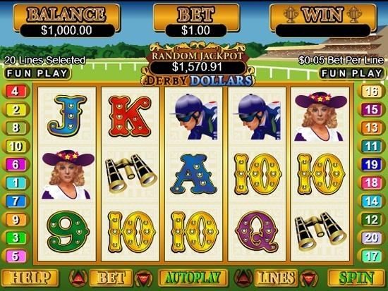 Derby Dollars Slot