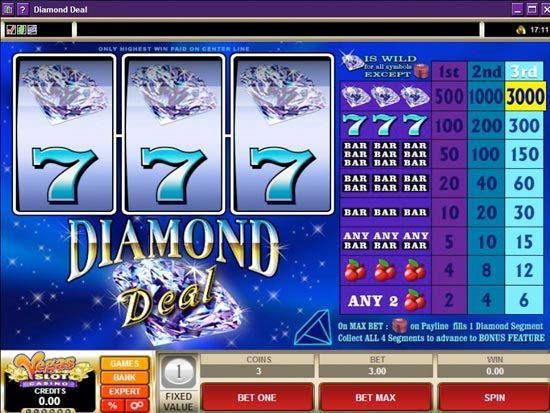 Play Diamond Deal Slot for Real Money