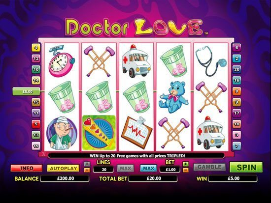 Play Doctor Of Love Slot for Real Money
