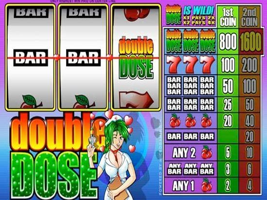 Double Dose Slot Machine - Play for Free or Real Money