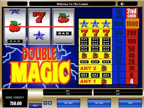 Play Double Magic Slot for Real Money