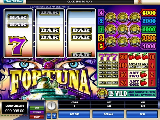 Play Fortuna Slot for Real Money