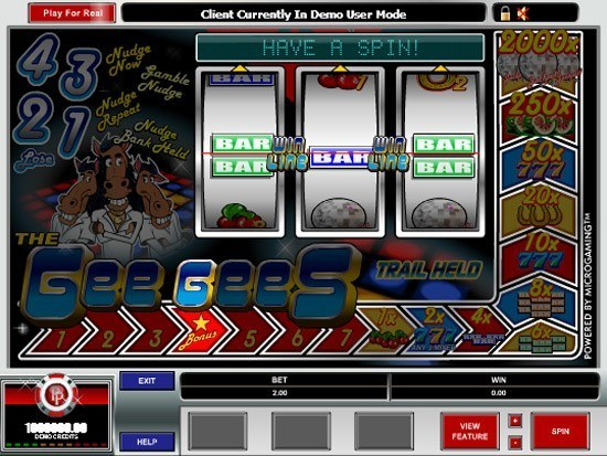 The Gee Gees Slot Machine - Play Online for Free
