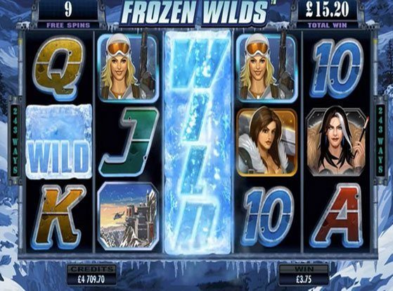 Girls With Guns - Frozen Dawn Slots - Play for Free Now
