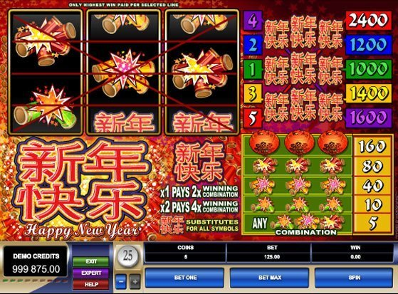 Play Happy New Year Slot for Real Money