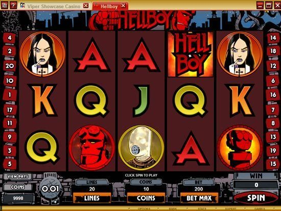 Play Hellboy Slot for Real Money