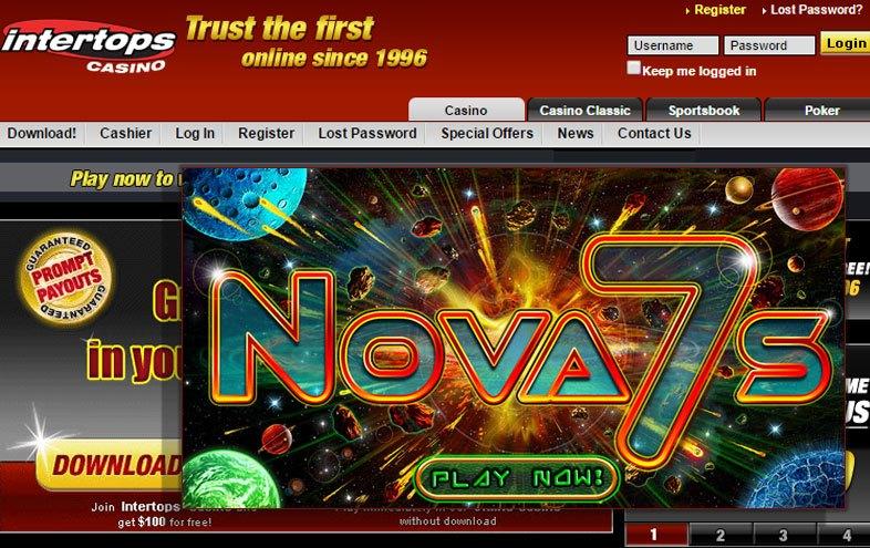 Nova online casino big data sports gambling