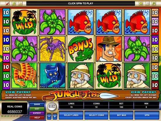 Play Jungle Jim Slot for Real Money