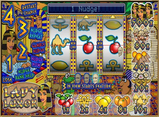 Play Lady Luxor Slot for Real Money