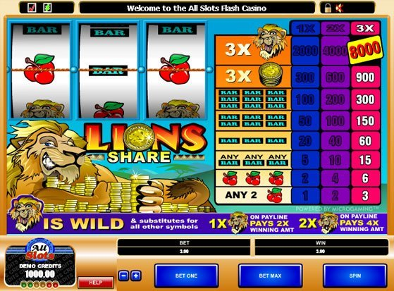 Lions Share Slots - Play Now for Free or Real Money