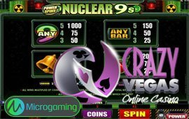Big Slot Win at Crazy Vegas Casino