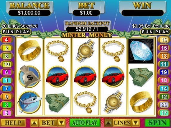 Mister Money Slots Free Play & Real Money Casinos