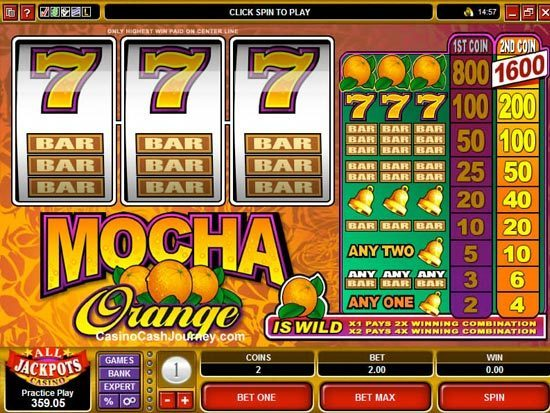 Play Mocha Orange Slot for Real Money