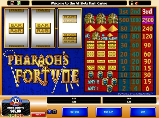 Pharaoh's Fortune Slot