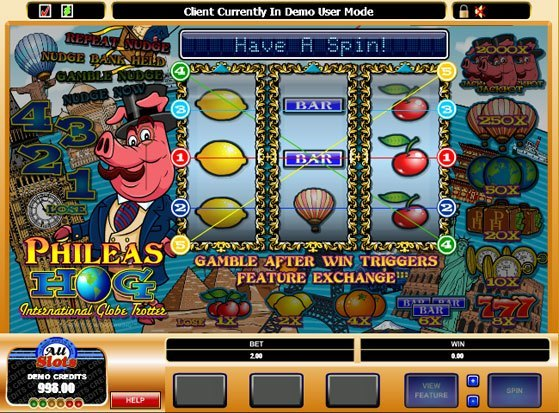 Phileas Hog Slot
