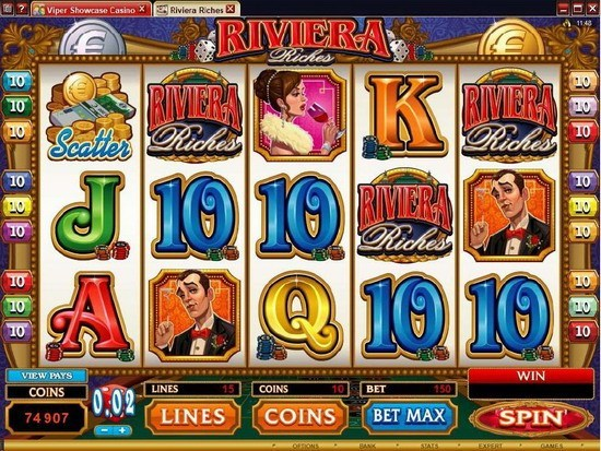 Play Riviera Riches Slot for Real Money