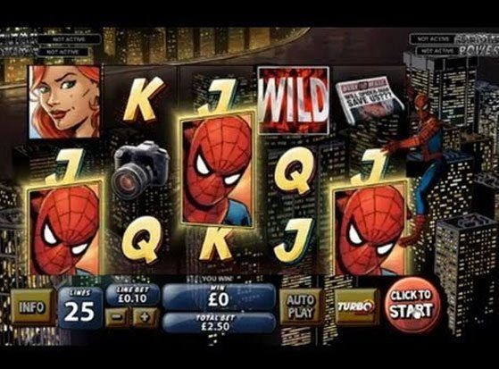 Spiderman - Attack of the Green Goblin Slot
