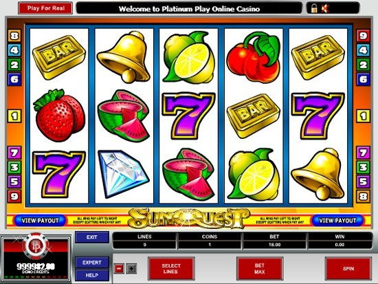 Play Sun Quest Slot for Real Money