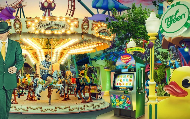 Theme Park Prizes at Mr Green Casino