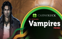 Vampires Promo Kicks off at Casino Luck