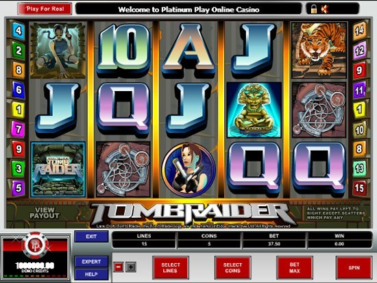 Tomb Raider 2: Secret of The Sword™ Slot Machine Game to Play Free in Microgamings Online Casinos