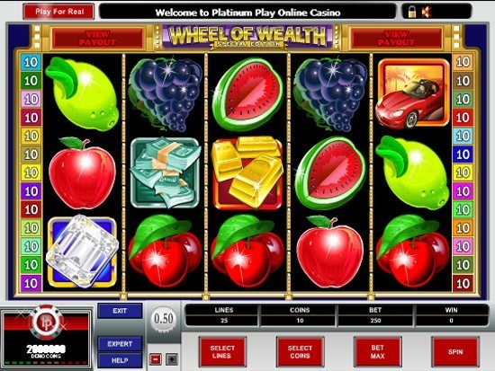 Play Wheel of Wealth Special Edition Slot for Real Money