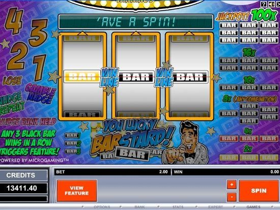 Lucky Barstard Slots - Play Now for Free or Real Money